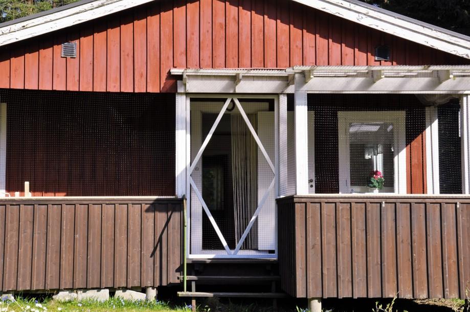 Nätad veranda