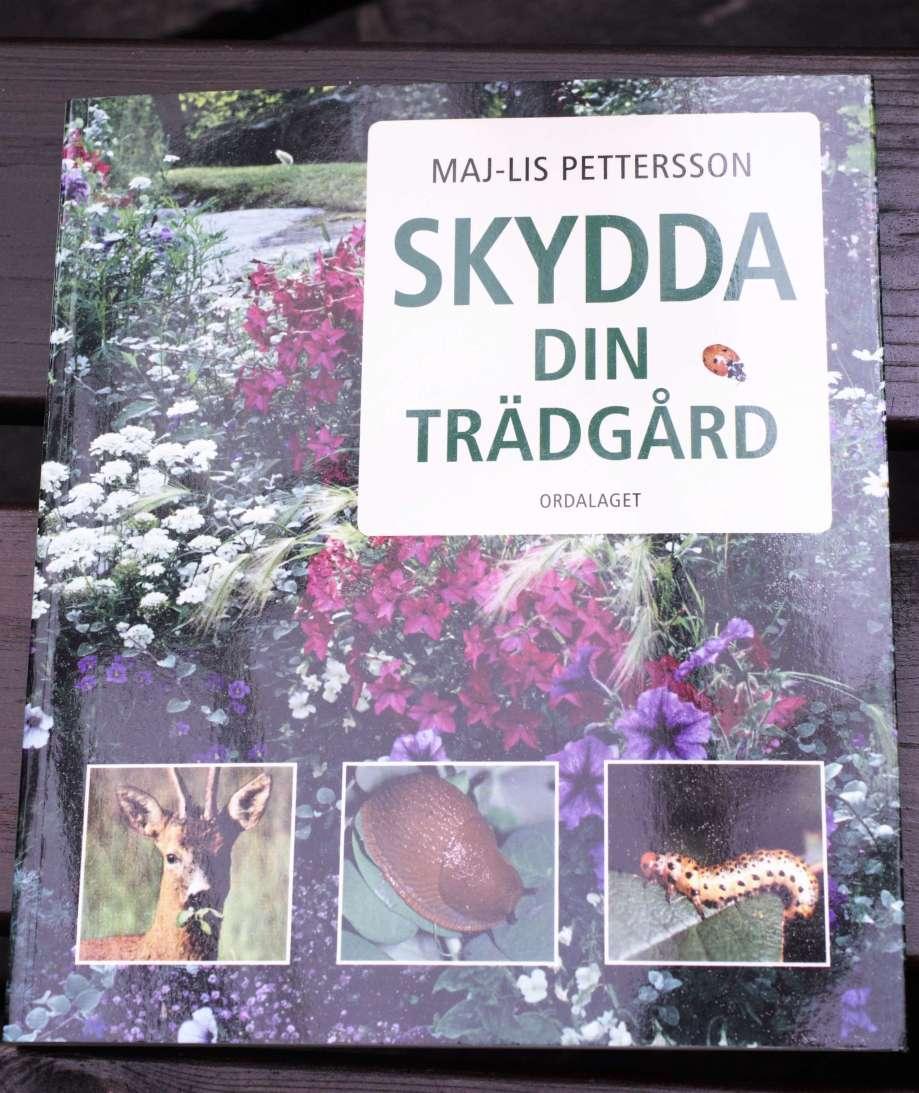 Maj-Lis Pettersson bok Skydda din trädgård