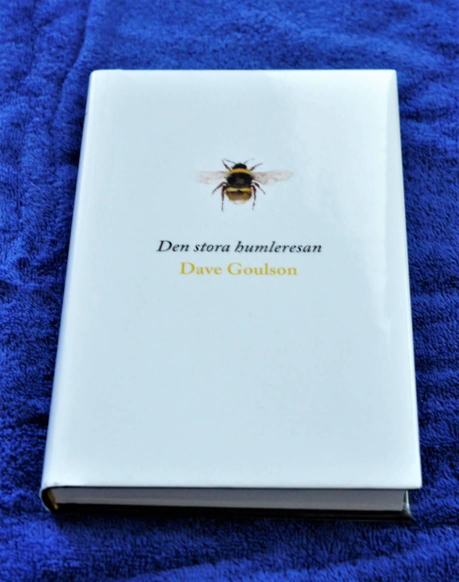 omslaget till boken Den stora humleresan, av Dave Goulson